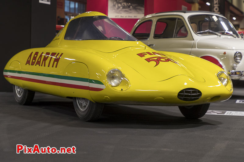Salon-Retromobile, Fiat-Abarth 500 Record Pininfarina