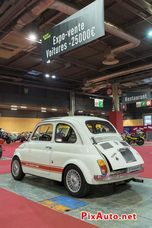 Salon-Retromobile, Fiat Abarth 595 Occasion