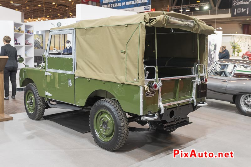 Salon-Retromobile, Land Rover