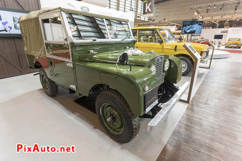 Salon-Retromobile, Land Rover Series 1