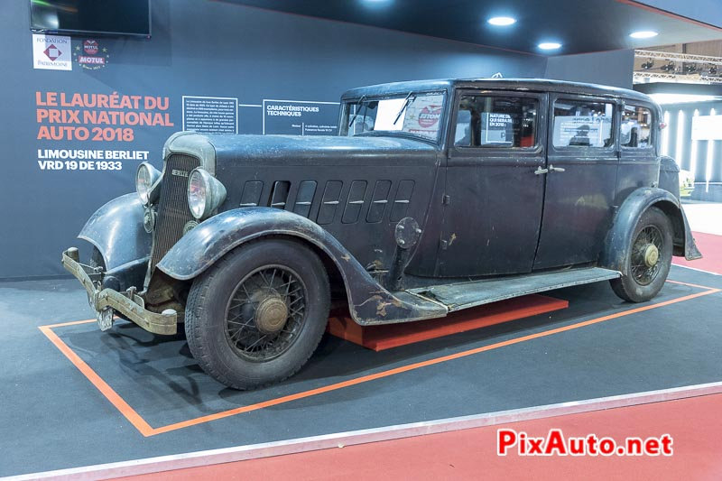 Salon-Retromobile, Limousine Berliet Type Vrd 19cv