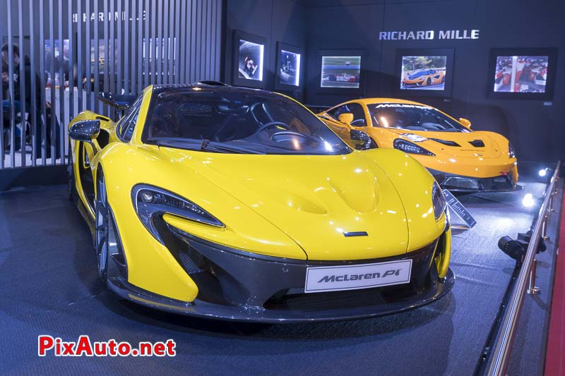 Salon-Retromobile, McLaren P1