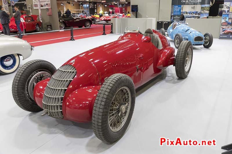 Salon-Retromobile, Monoplace Alfa Romeo 308