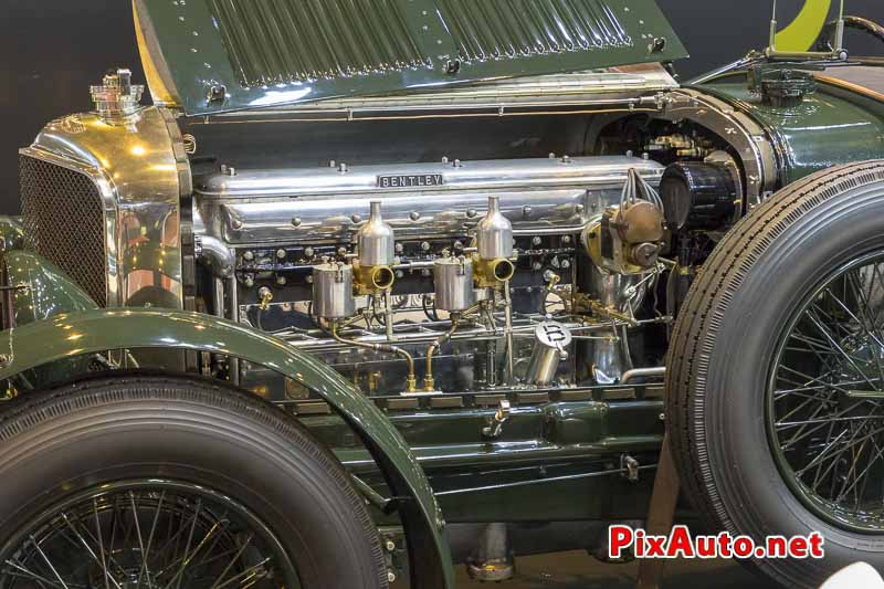 Salon-Retromobile, Moteur Bentley