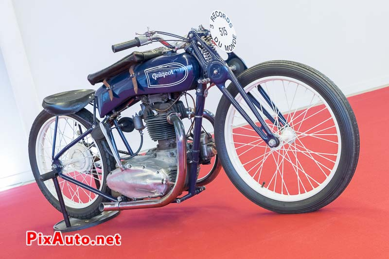 Salon-Retromobile, Moto Peugeot 515