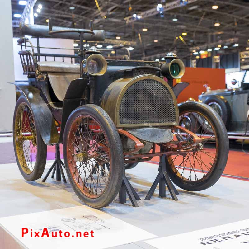 Salon-Retromobile, Voiturette Renault Tilbury