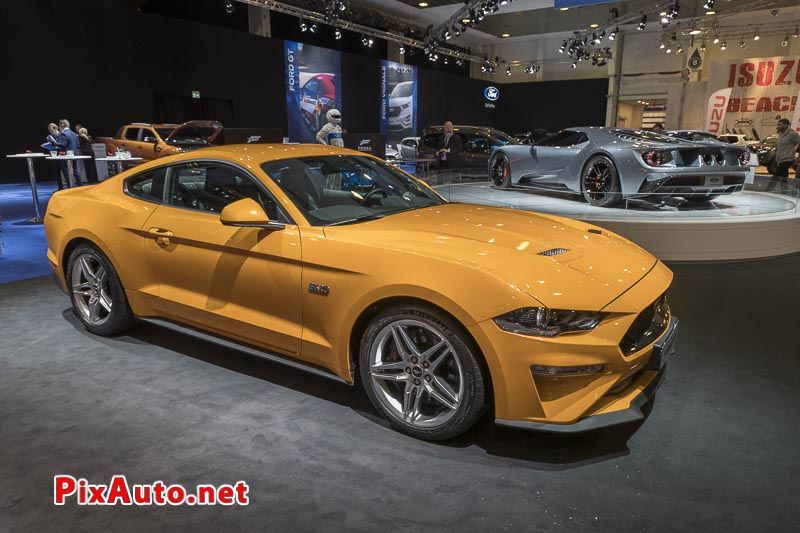 96e Brussels-Motor-Show, New Ford Mustang 5