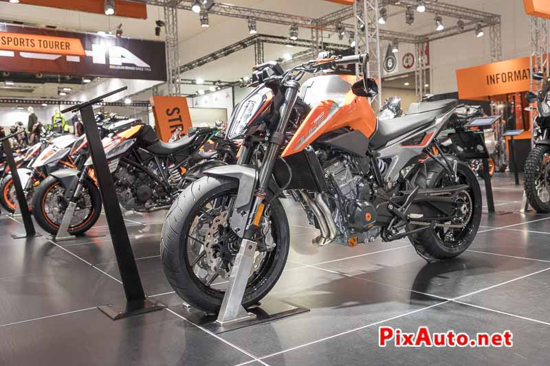 96e Brussels Motor Show, New KTM 790 Duke