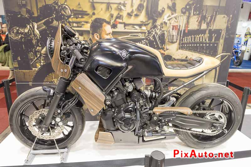 96e Brussels-Motor-Show, Yamaha Xsr700 Hanko By Georges Woodman