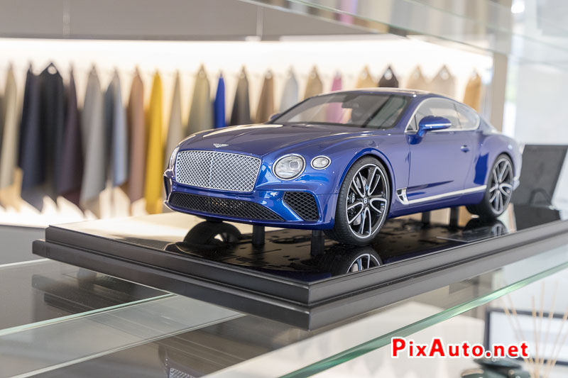 Salon-de-Geneve, Maquette Bentley Continental