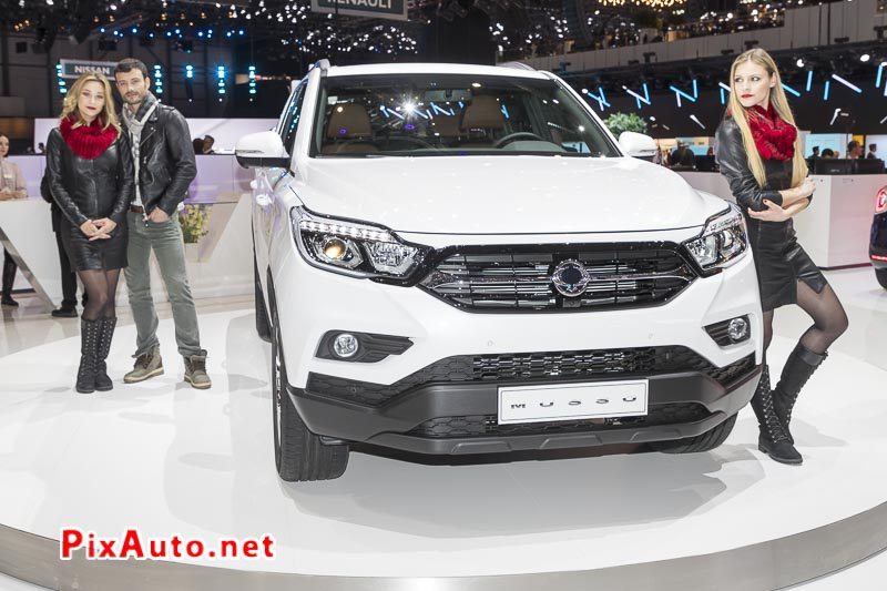Salon-de-Geneve, New Pickup Ssangyong Musso