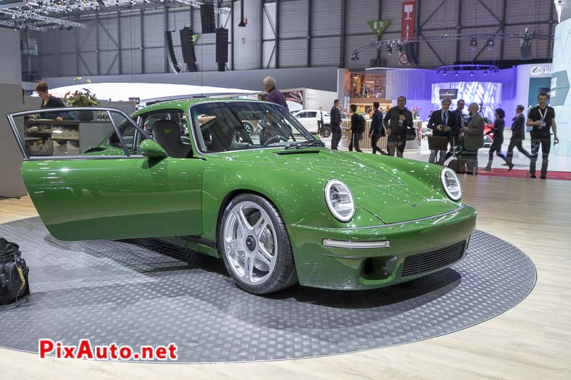 Salon de Geneve 2018, New RUF SCR 2018