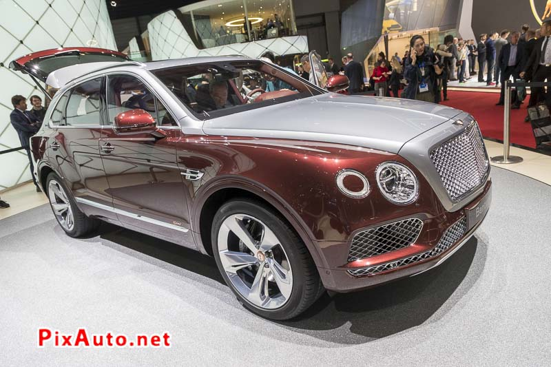 Salon-de-Geneve, New Suv Bentley Bentayga Hybrid