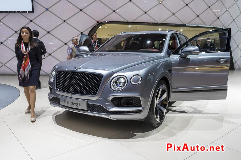 Salon-de-Geneve, New Suv Bentley Bentayga V8