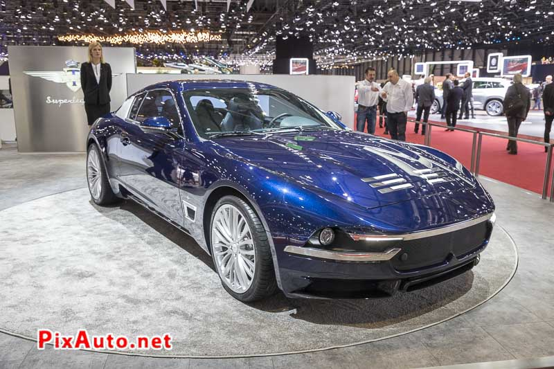 Salon-de-Geneve, Touring Superleggera Sciadipersia