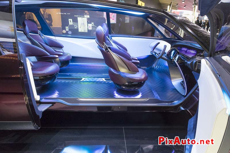 Geneva International Motor Show, Toyota Fine-comfort Ride Habitacle
