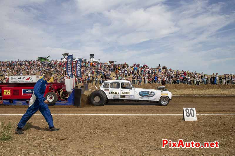 Championnat de France de Tracteur-pulling, Pick Up Lucky Luke