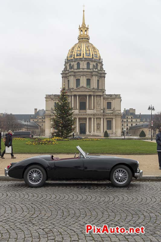 Traversee-de-Paris Hivernale, Austin Healey Place Vauban