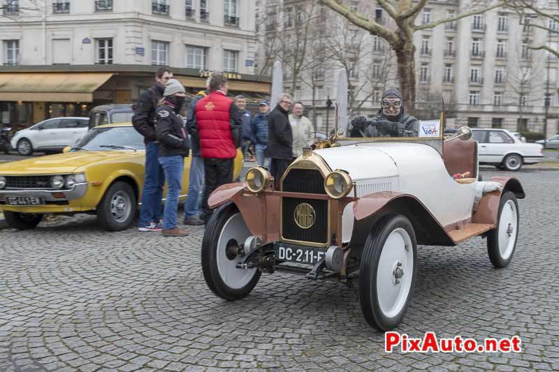 Traversee-de-Paris Hivernale, Cyclecar Mathis Type-P