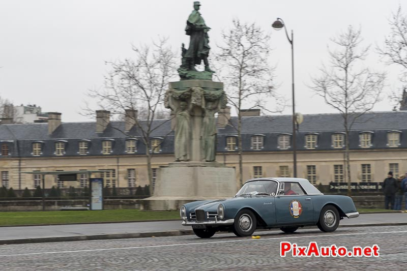 Traversee-de-Paris Hivernale, Facel Vega