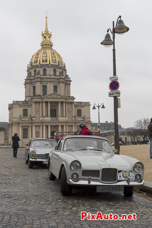 Traversee-de-Paris Hivernale, Facel Vega Place Vauban