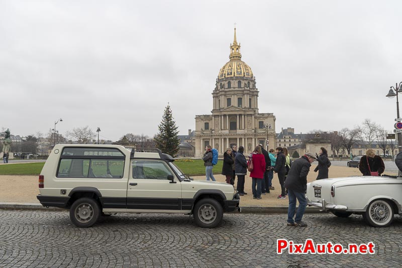 Traversee-de-Paris Hivernale, Matra Rancho Place Vauban