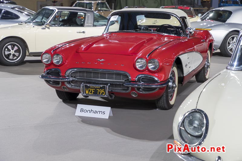 Vente-Bonhams-Grand-Palais, Chevrolet Corvette Roadster 1961