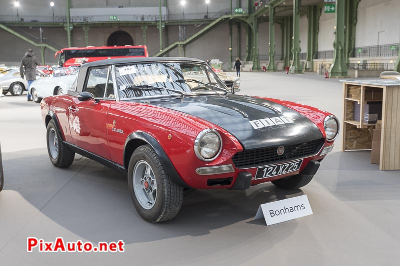 Vente-Bonhams-Grand-Palais, Fiat 124 Abarth Spider