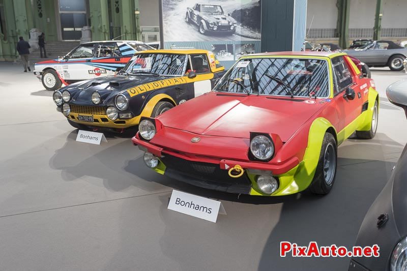 Vente-Bonhams-Grand-Palais, Fiat X1/9 Groupe 4