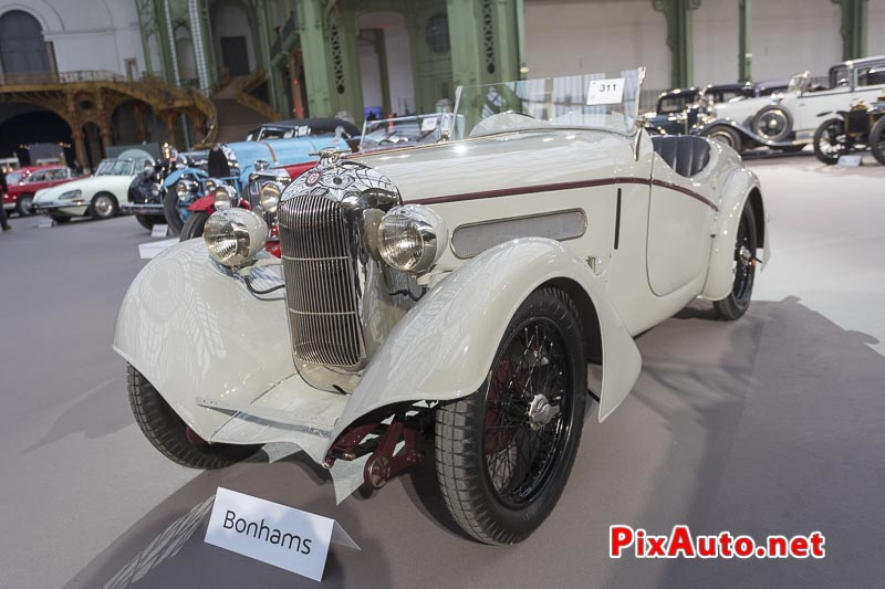Vente-Bonhams-Grand-Palais, Salmson GS8 Roadster #21004