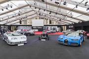 RM Sotheby's, Bugatti EB110SS, 35GP et Chiron