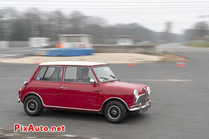 God-Save-the-Car 2019, Mini Rouge Aux 2 Ponts