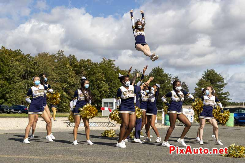3e US Motor Show, Demonstration des Wolfpack Cheerleaders