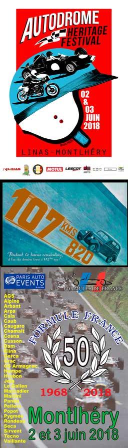 affiche Autodrome Heritage Festival 2018