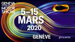affiche Salon automobile de Geneve 2020