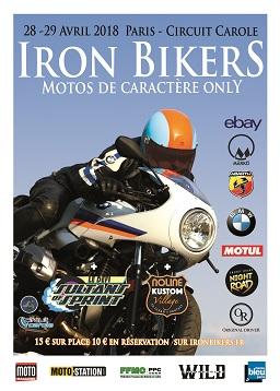 affiche Iron Bikers 2018