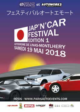 affiche Jap'n Car Festival 2018