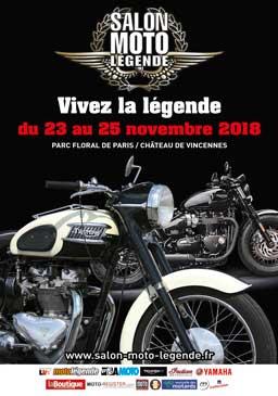 Affiche salon Moto legende 2018