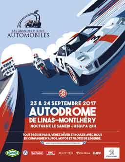 Affiche Les Grandes Heures Automobiles 2017