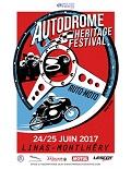 affiche Autodrome Heritage Festival 2017