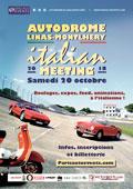 affiche autodrome Italian Meeting 2018