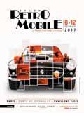 affiche 42e Salon Retromobile 2017