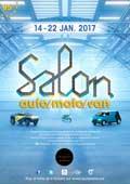 affiche Salon automobile de Bruxelles 2017