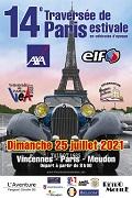 affiche Traversee De Paris Estivale 2021