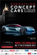 affiche exposition concept-cars et Design 2017