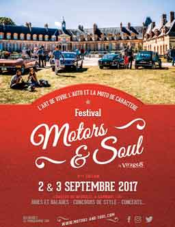 affiche motors and soul 2017